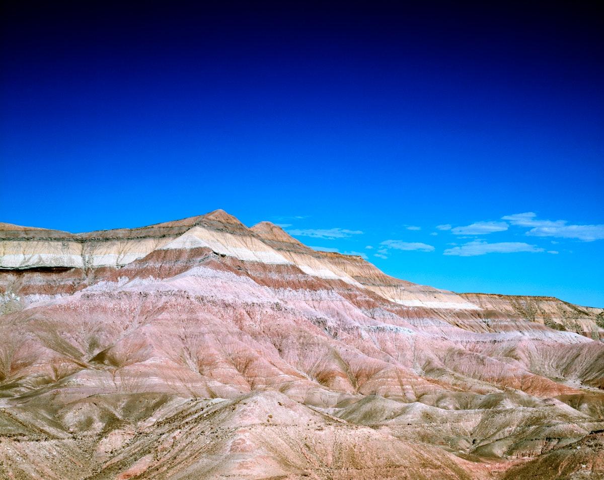 Arizona's Painted Desert. Old Mammoth Road. Original image from Carol M. Highsmith's America, Library of Congress…