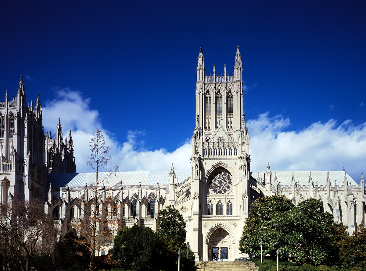 National Cathedral, Washington D.C. Original image from Carol M. Highsmith's America, Library of Congress collection.…