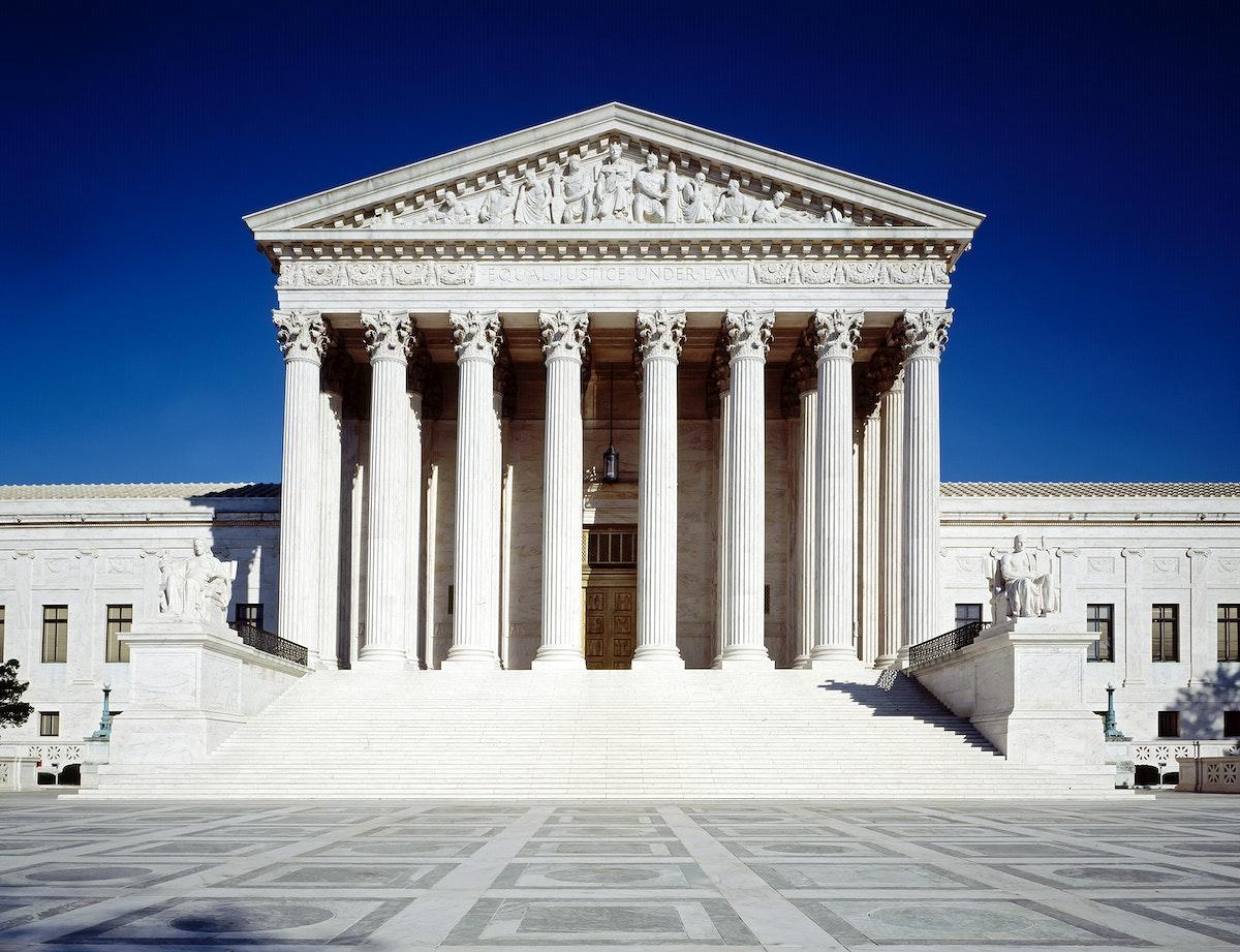 United States Supreme Court Building, Washington, D.C. Original image from Carol M. Highsmith's America, Library of…