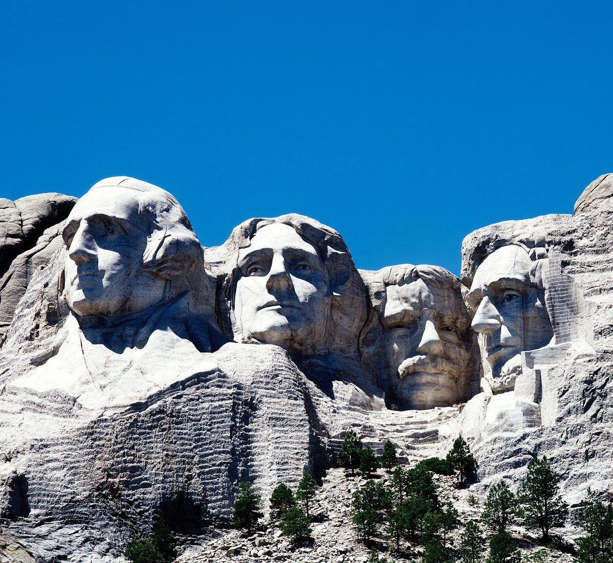 Mount Rushmore. Original image from Carol M. Highsmith's America, Library of Congress collection. Digitally enhanced by…