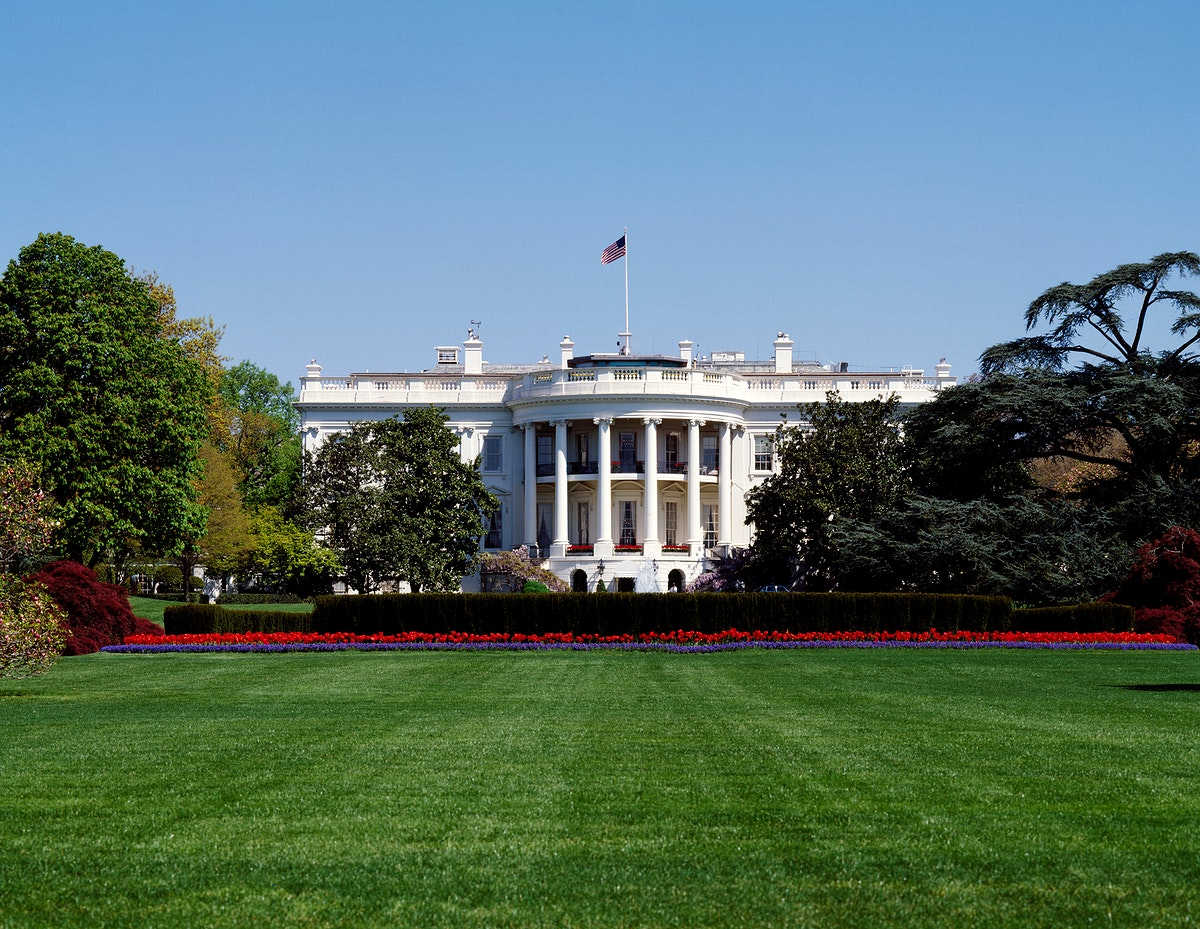 The White House. Original image from Carol M. Highsmith's America, Library of Congress collection. Digitally enhanced…