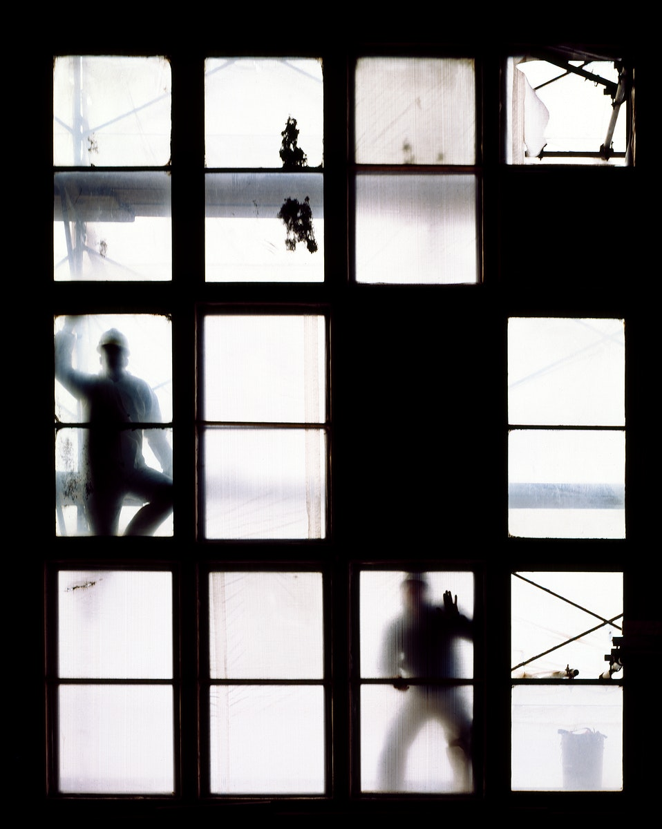Restoration work at the historic Reading Terminal and Market. Original image from Carol M. Highsmith's America, Library…