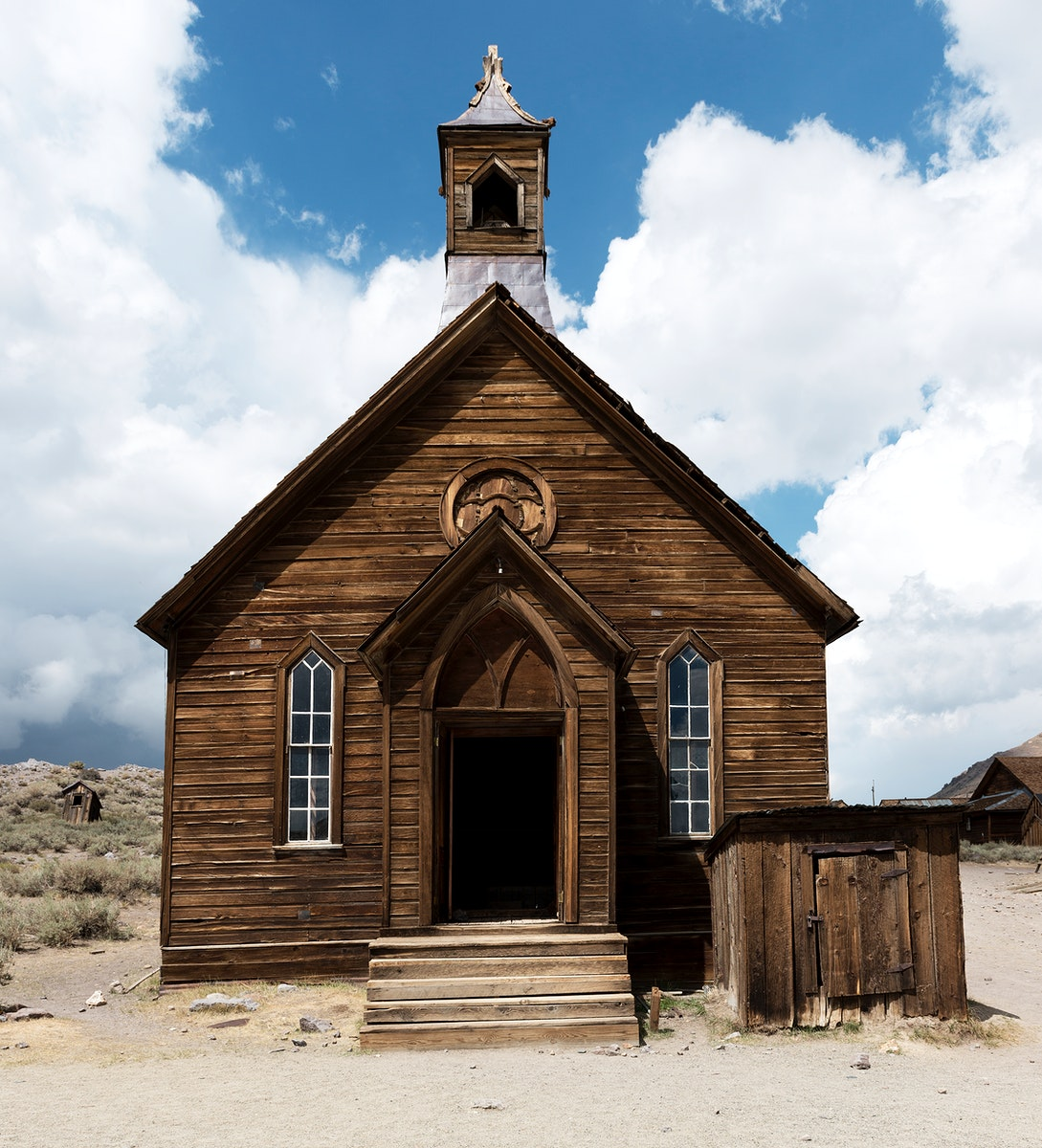 Bodie, a ghost town in the Bodie Hills, east of the Sierra Nevada mountain range in Mono County, California. Original image…