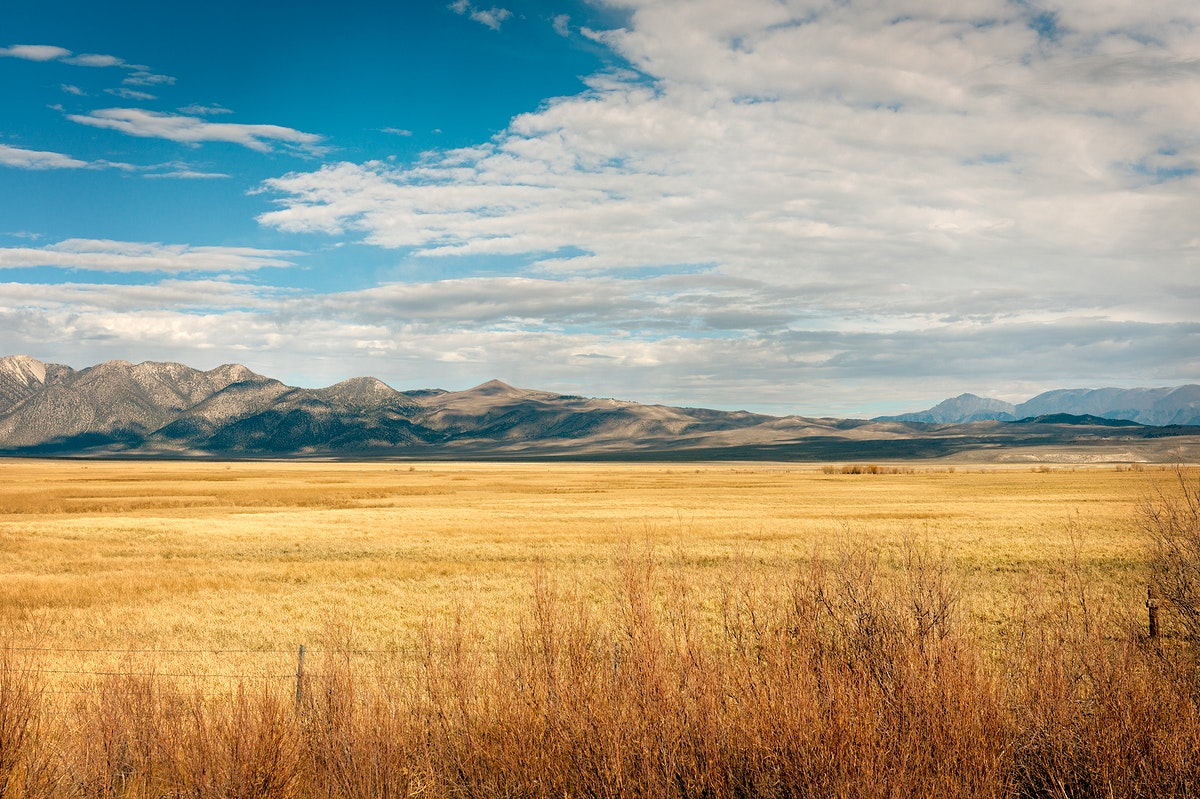 Scenic view in Northern California. Original image from Carol M. Highsmith's America, Library of Congress collection.…