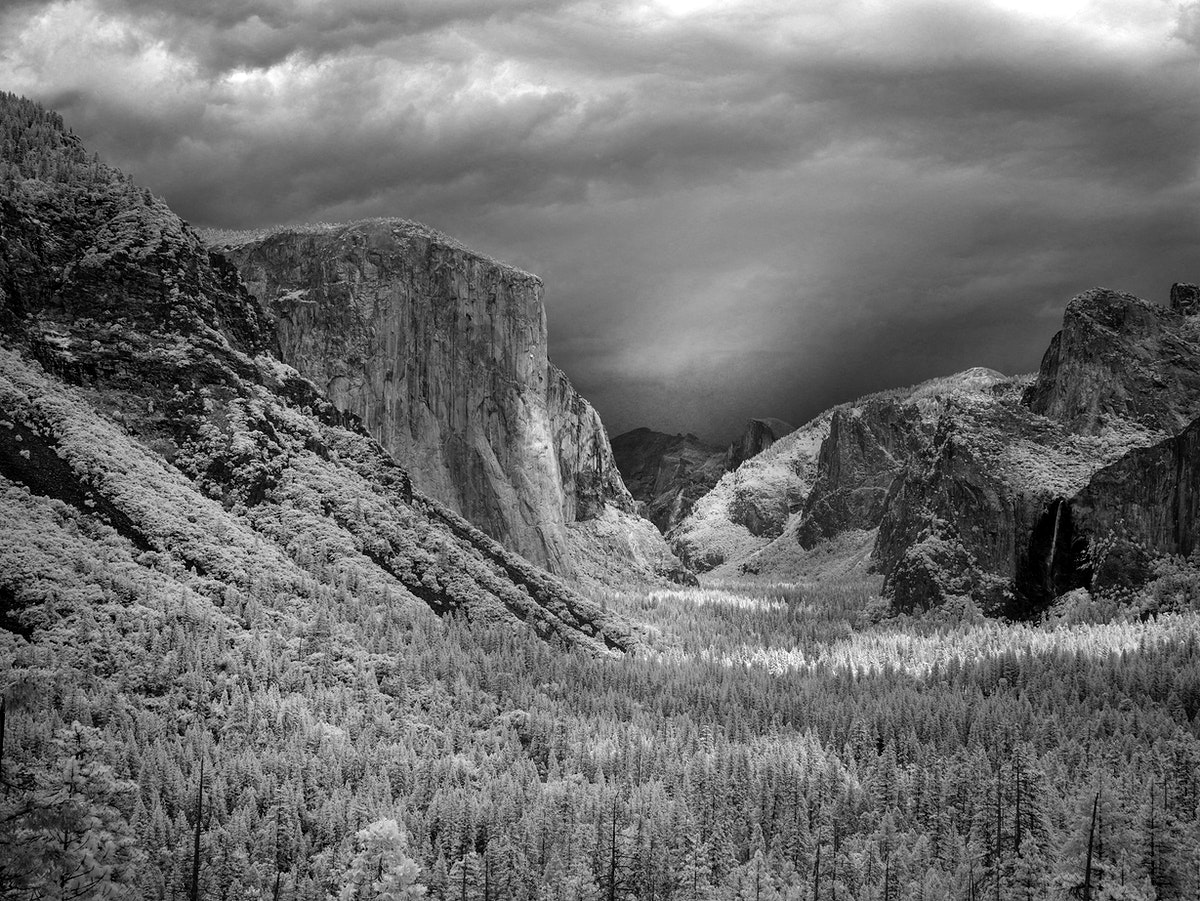 Yosemite National Park, USA. Original image from Carol M. Highsmith's America, Library of Congress collection.…