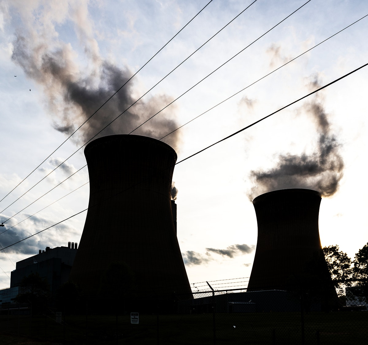 Nuclear plant. Original image from Carol M. Highsmith's America, Library of Congress collection. Digitally enhanced by…