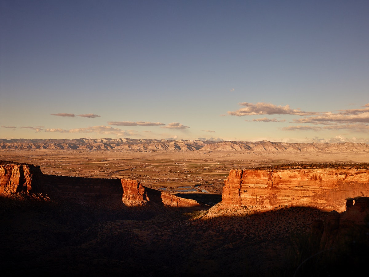 Scenery at Colorado National Monument USA - Original image from Carol M. Highsmith's America, Library of Congress…