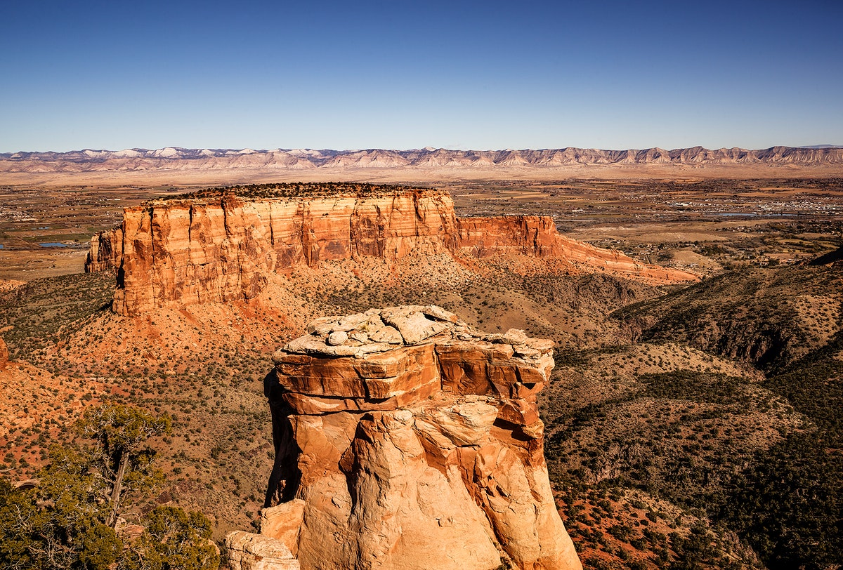 Scenery at Colorado National Monument, USA - Original image from Carol M. Highsmith's America, Library of Congress…