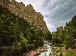 """Stream in Eldorado Canyon State Park in Boulder County, Colorado - Original image from <a href=""""https://www.rawpixel.com/search/carol%20m.%20highsmith?sort=curated&amp;page=1"""">Carol M. Highsmith</a>&rsquo;s America, Library of Congress collection. Digitally enhanced by rawpixel."""