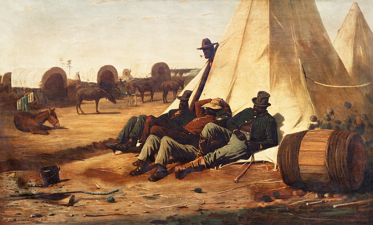 The Bright Side (1866) by Winslow Homer. Original from The Cleveland Museum of Art. Digitally enhanced by rawpixel.