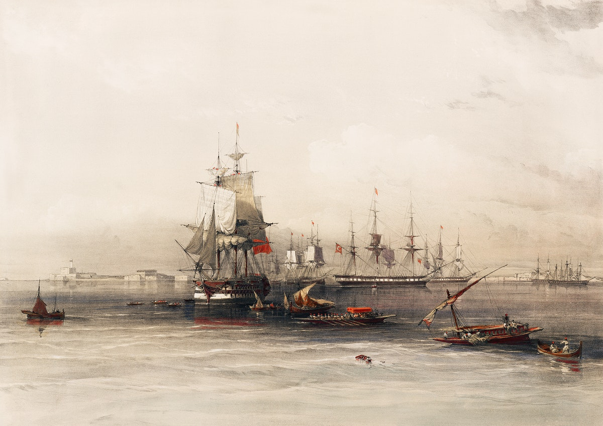 Alexandria illustration by David Roberts (1796–1864). Original from The New York Public Library. Digitally enhanced by…