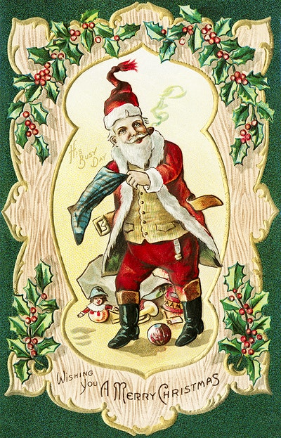 Vintage Christmas Images And Illustrations Free Cc0 Public Domain