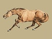 """Illustration of light-brown horse from Sporting Sketches (1817-1818) by <a href=""""https://www.rawpixel.com/search/Henry%20Alken?sort=curated&amp;page=1"""">Henry Alken</a> (1784-1851). Digitally enhanced by rawpixel."""