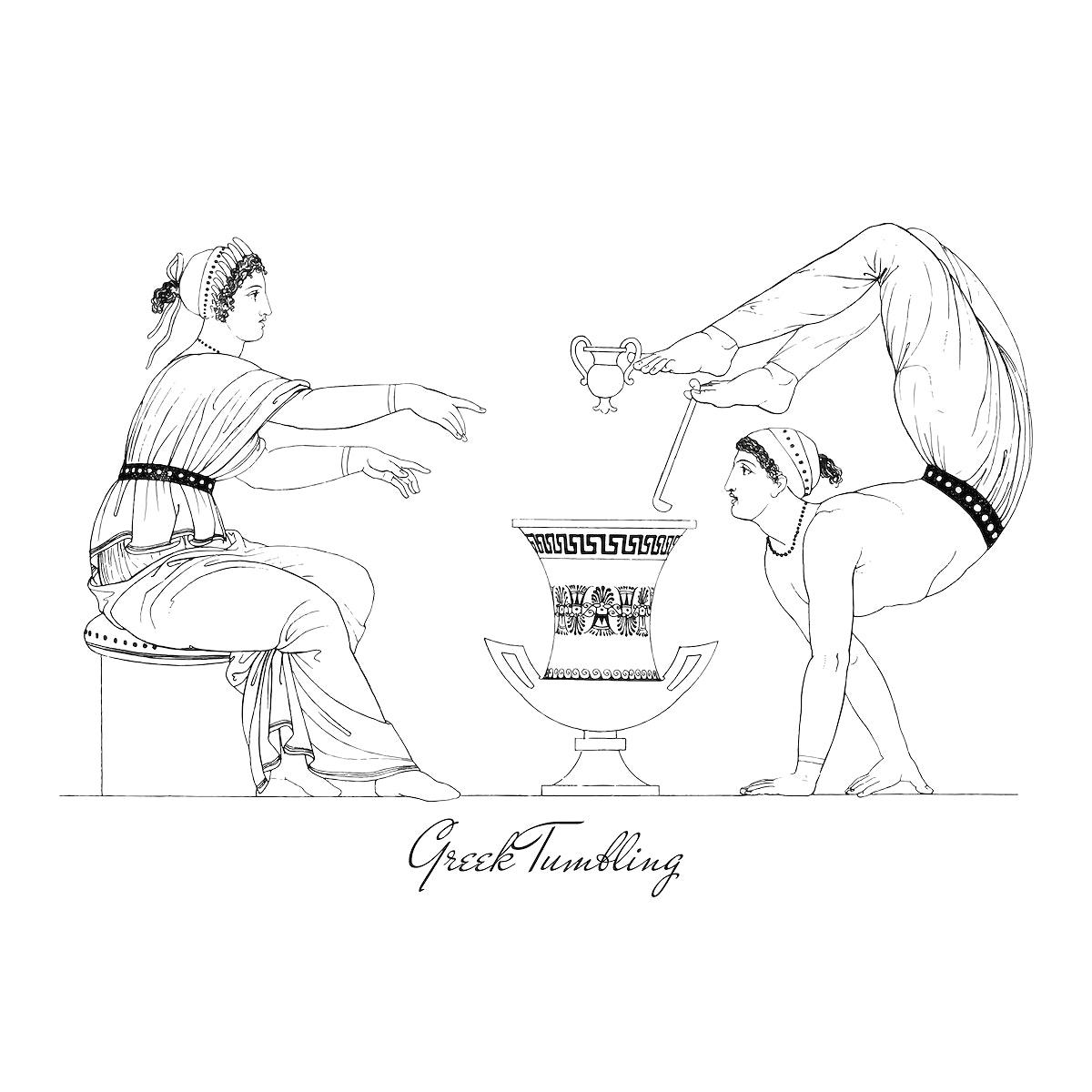 Ancient Greece illustration