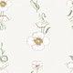 Vintage poppy flower patterned design resource