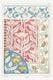 Art nouveau poppy flower pattern collection design resource
