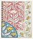 Art nouveau poppy flower patterns design resource