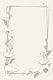 Vintage white poppy flower frame design element
