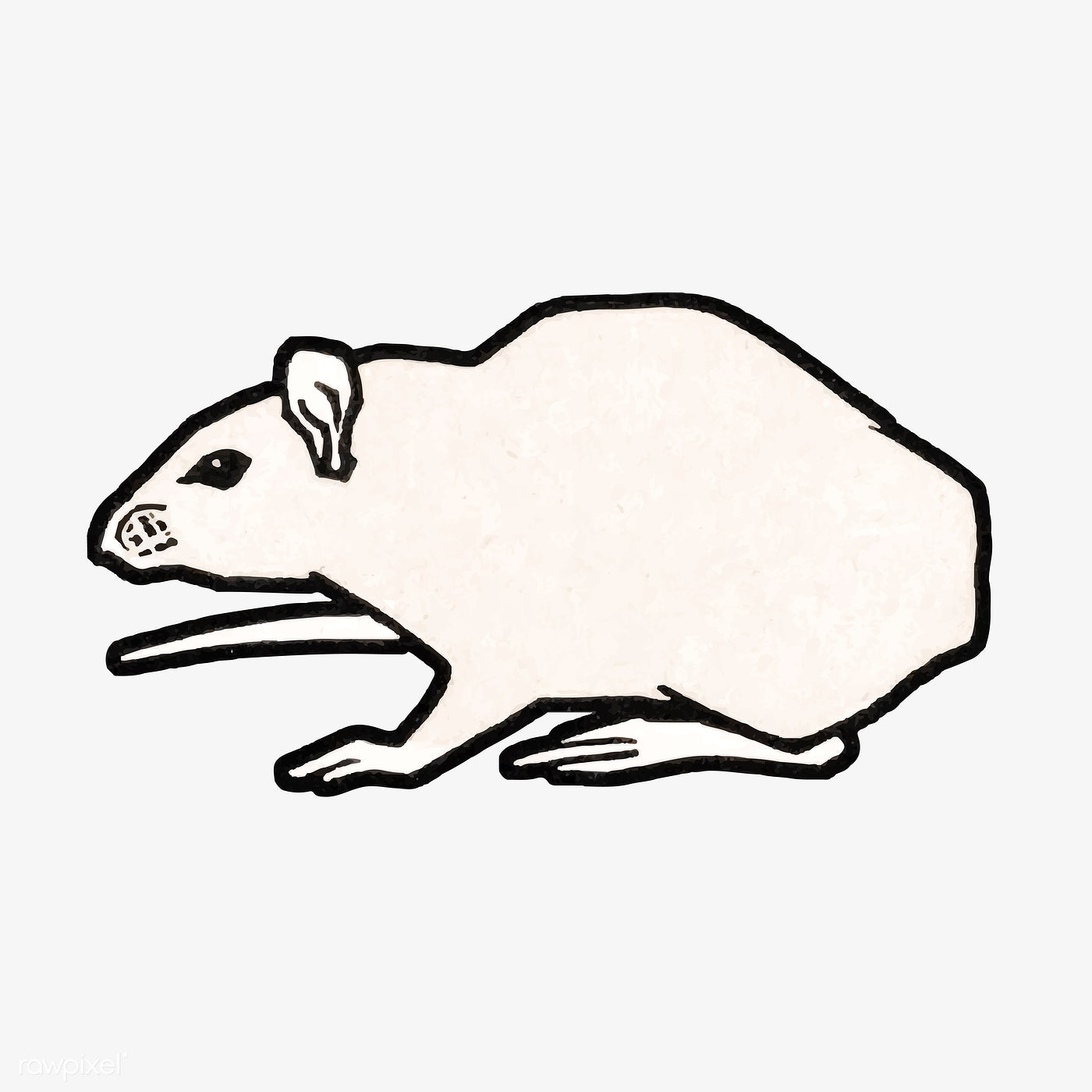 Mouse (1917) by Julie de Graag (1877-1924). Original from
