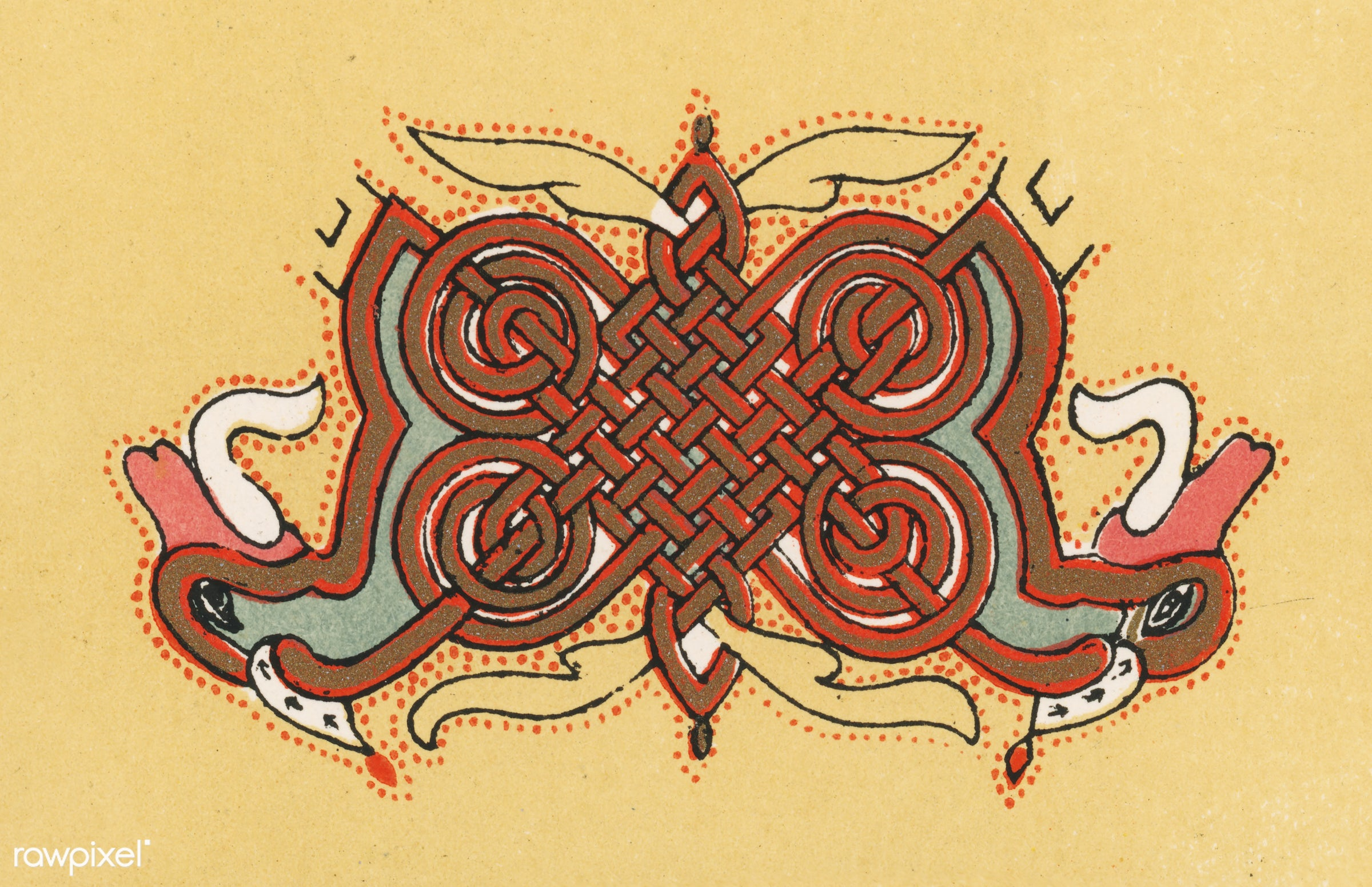Antique illustration of the grammar of ornament by Owen Jones - abstract, ancient, antique, architecture, artwork, banner,...