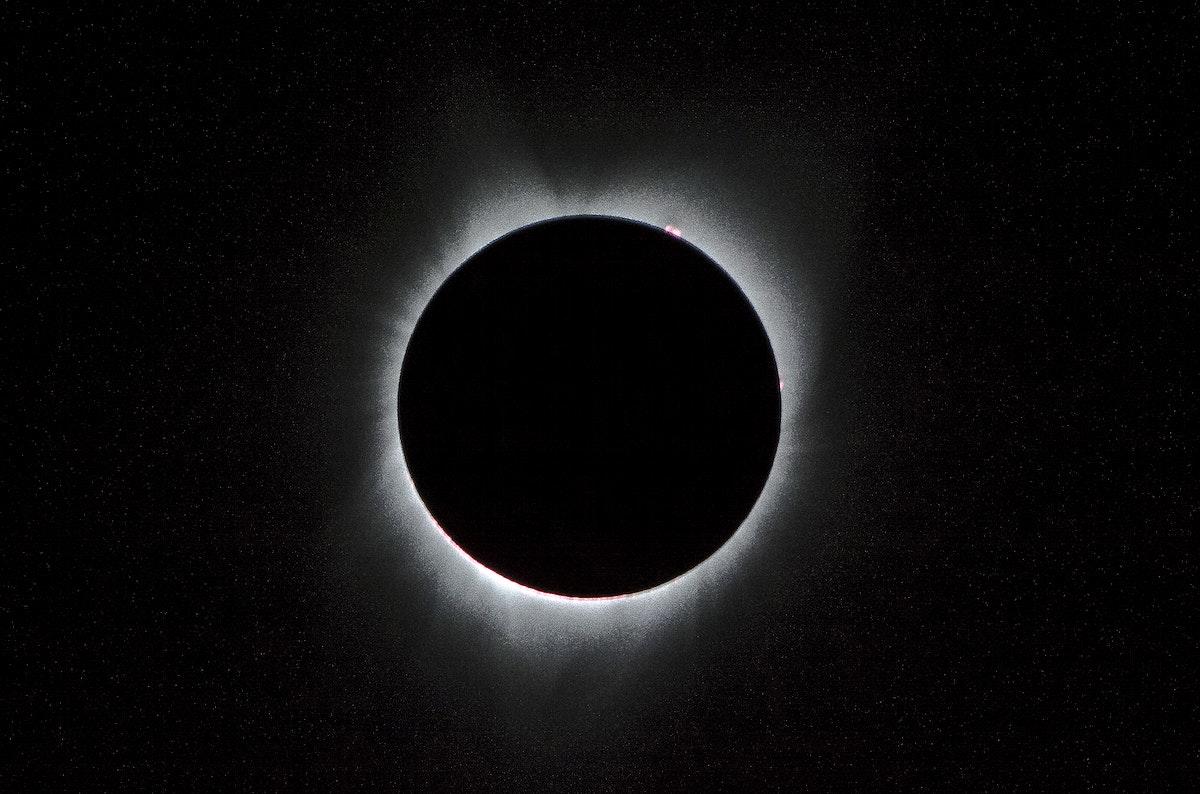 2017 Total Solar Eclipse. Original from NASA. Digitally enhanced by rawpixel.