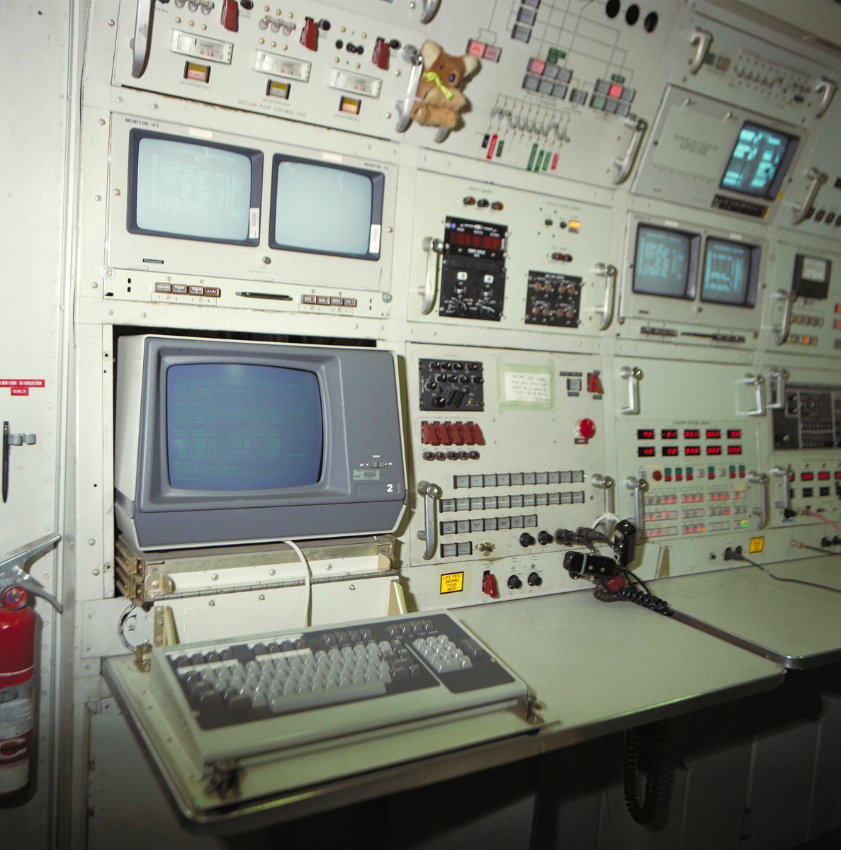 Cornell University, Infrared Interferometer mission directors console. Original from NASA. Digitally enhanced by rawpixel.