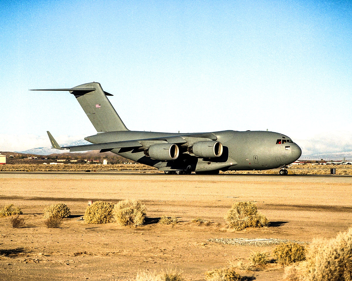 The Air Force provided a C-17 Globemaster III for use in the Vehicle Integrated Propulsion Research (VIPR) effort. Original…
