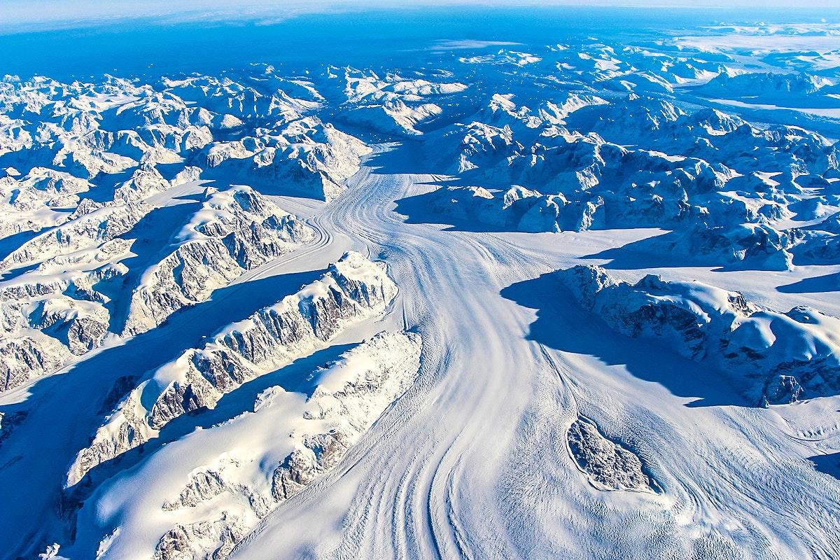 NASA's Operation IceBridge Completes Twin Polar Campaigns. Heimdal Glacier in southern Greenland. Original from NASA.…