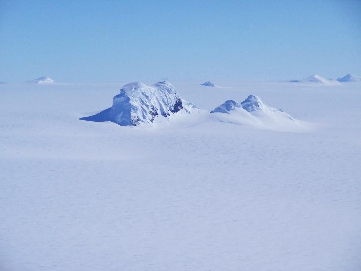 Mountain Peaks. Original from NASA. Digitally enhanced by rawpixel