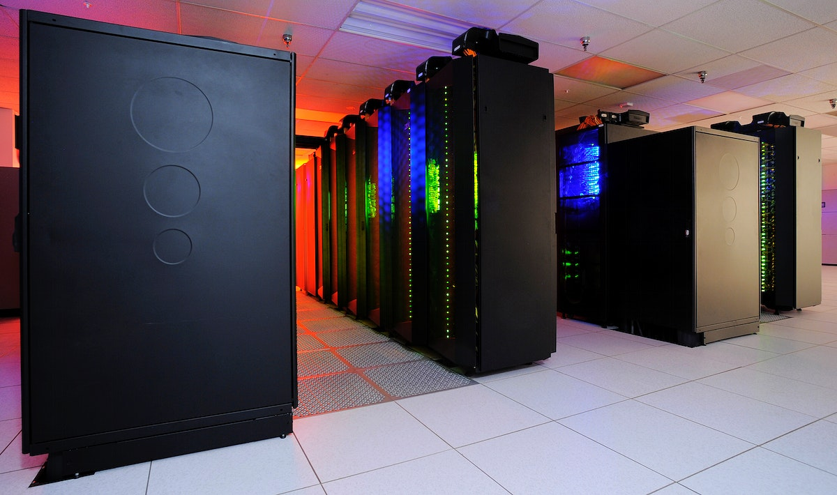"""The heart of the NASA Center for Climate Simulation (NCCS) is the """"Discover"""" supercomputer. Original from NASA.…"""