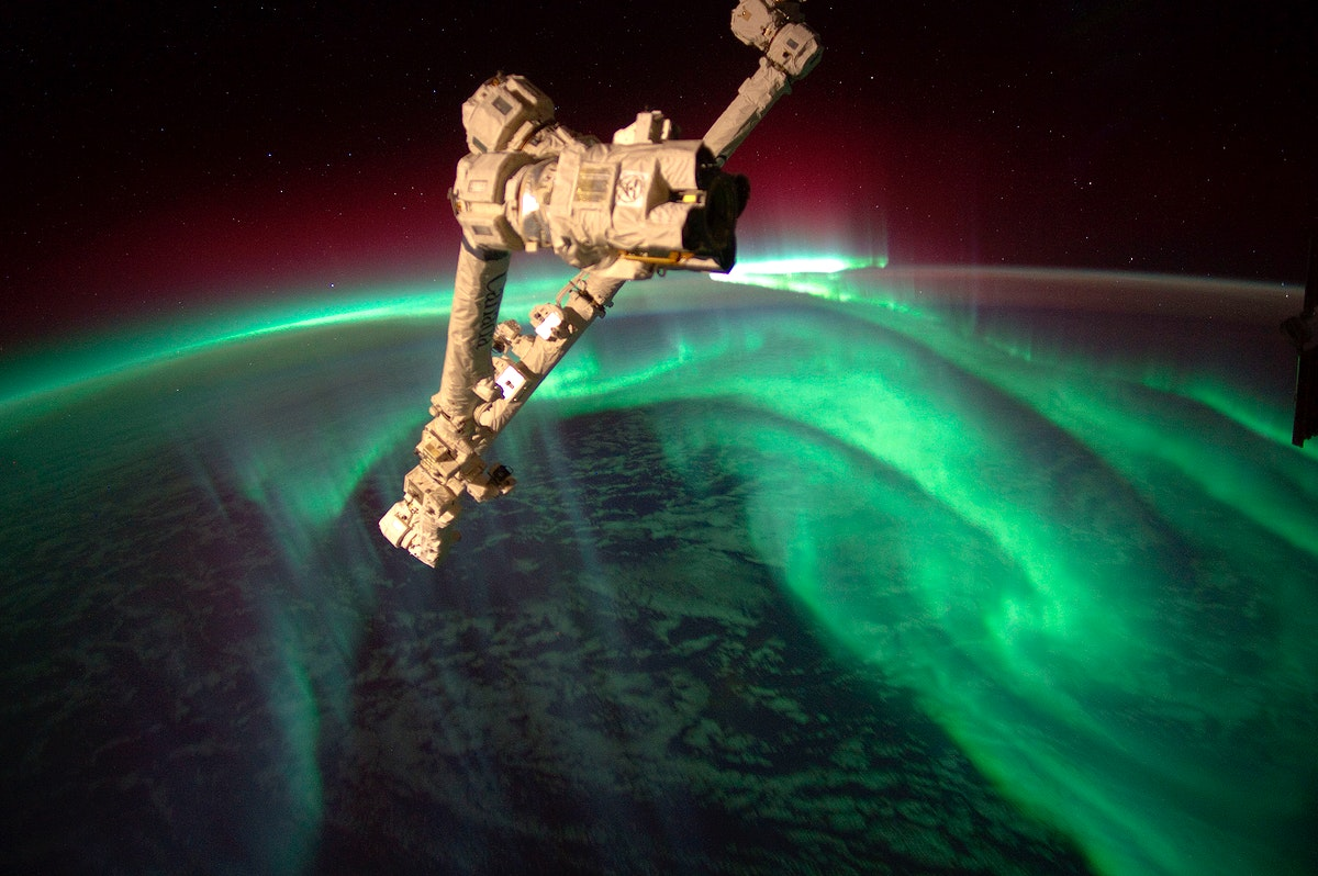 The Expedition 32 crew onboard the International Space Station, flying an altitude of approximately 240 miles, recorded a…