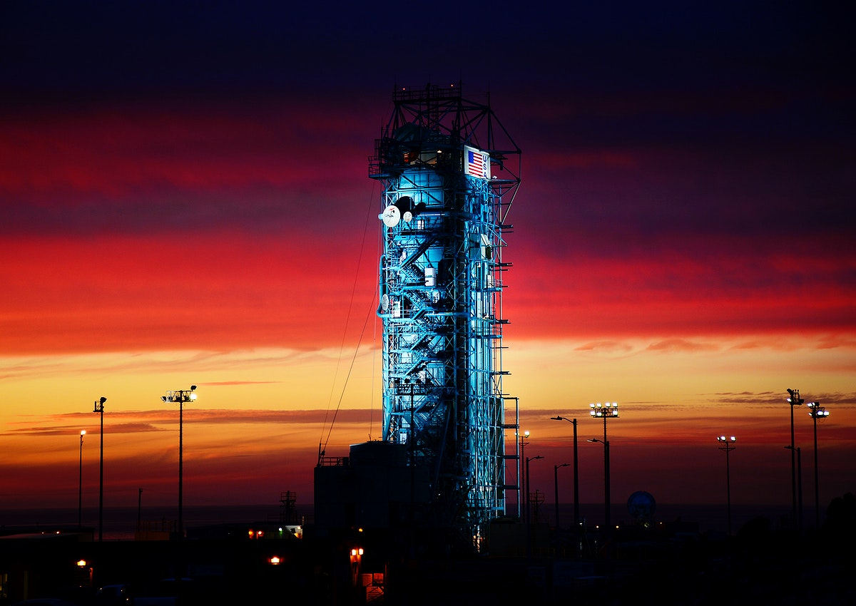 The United Launch Alliance Delta II rocket with the Soil Moisture Active Passive satellite aboard, at the Space Launch…