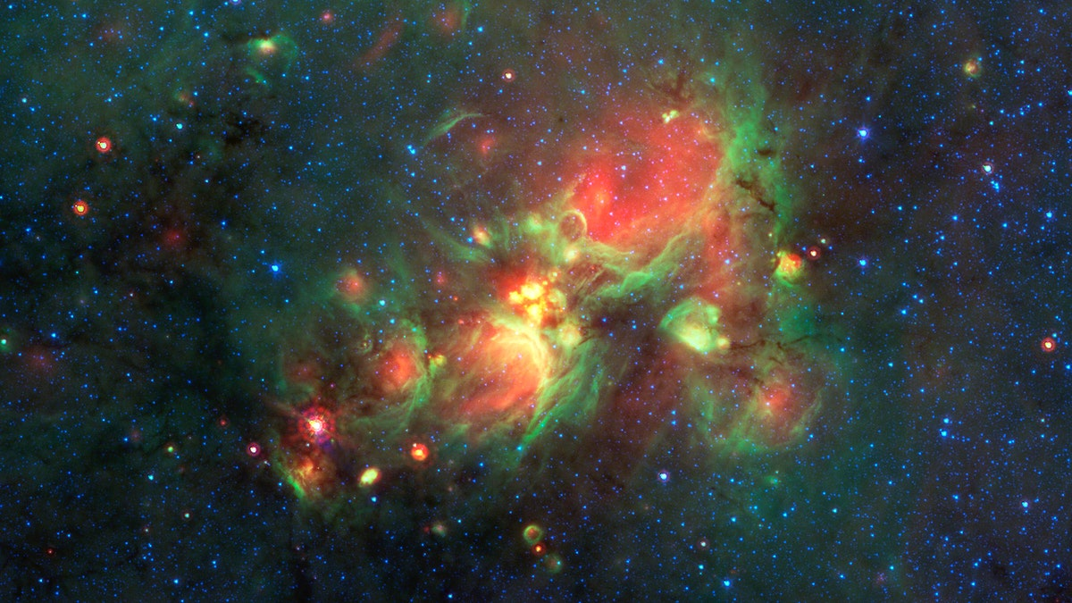 Finding Yellowballs in our Milky Way. Original from NASA. Digitally enhanced by rawpixel.