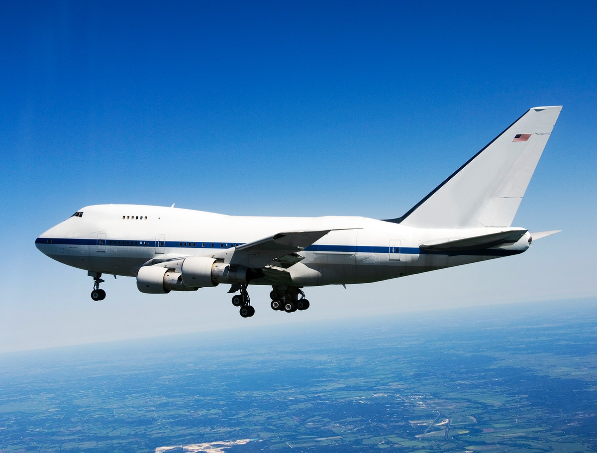 NASA/DLR Stratospheric Observatory for Infared Astronomy (SOFIA) 747SP cruises over central Texas on its first checkout…