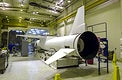 At Vandenberg Air Force Base in California, the Orbital Sciences Pegasus XL rocket is ready for mating to the AIM spacecraft. Original from NASA. Digitally enhanced by rawpixel.
