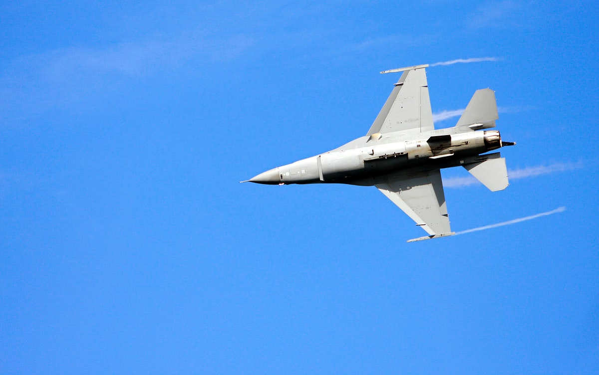 An F/A-18 Super Hornet demonstrates its flying capabilities. Original from NASA. Digitally enhanced by rawpixel.