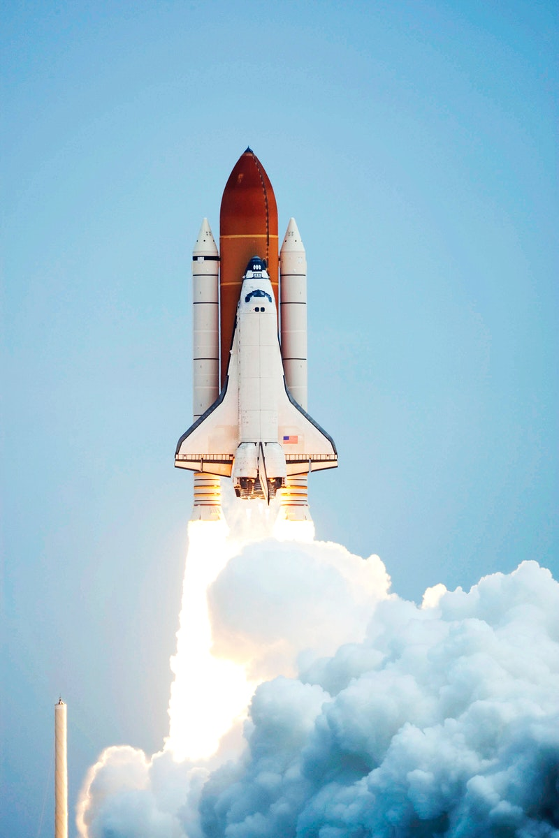 Space shuttle Atlantis and its four-member STS-135 crew head toward Earth orbit and rendezvous with the International Space…