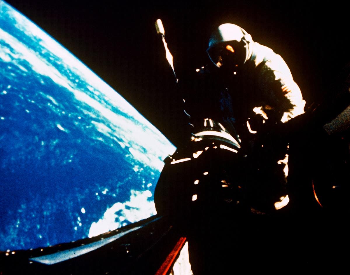 NASA astronauts in space - May 1st, 1961. Original from NASA. Digitally enhanced by rawpixel.