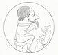 Vintage illustration of Philosopher