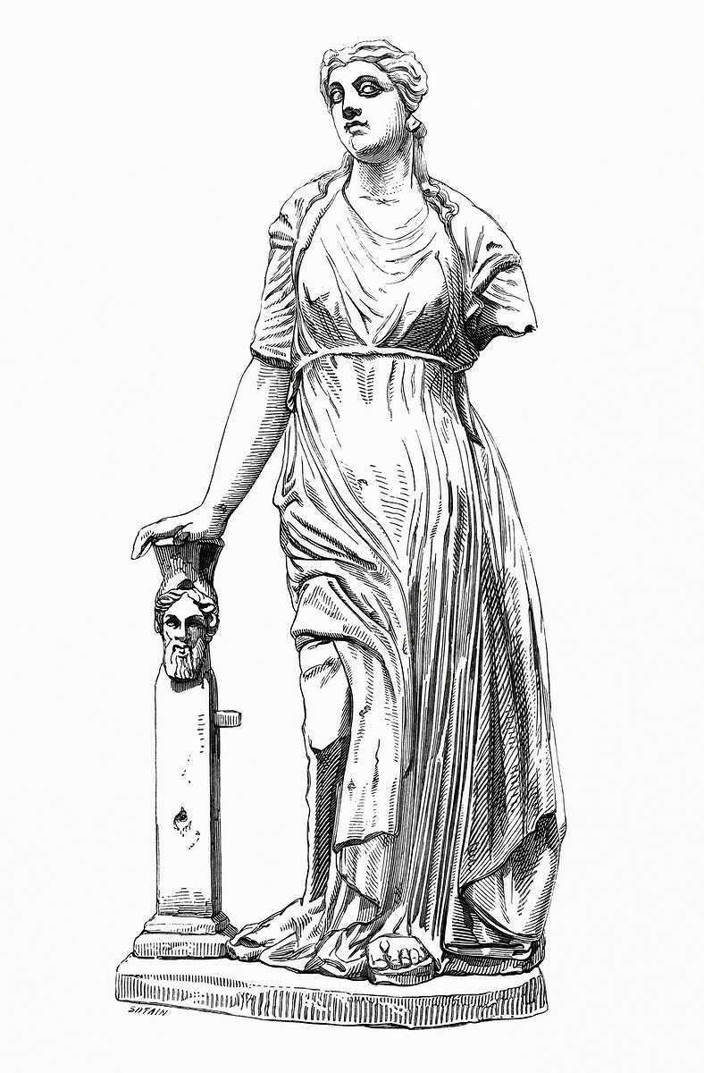 Figurine Trouvées A Ardée (1862) from Gazette Des Beaux-Arts, a French art review. Digitally enhanced from our…
