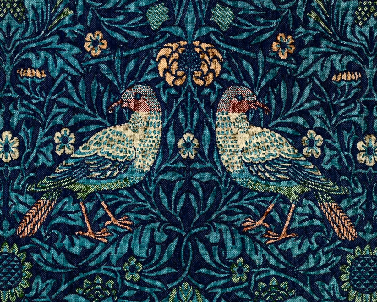 Birds by William Morris (1834-1896). Original from The MET Museum. Digitally enhanced by rawpixel.