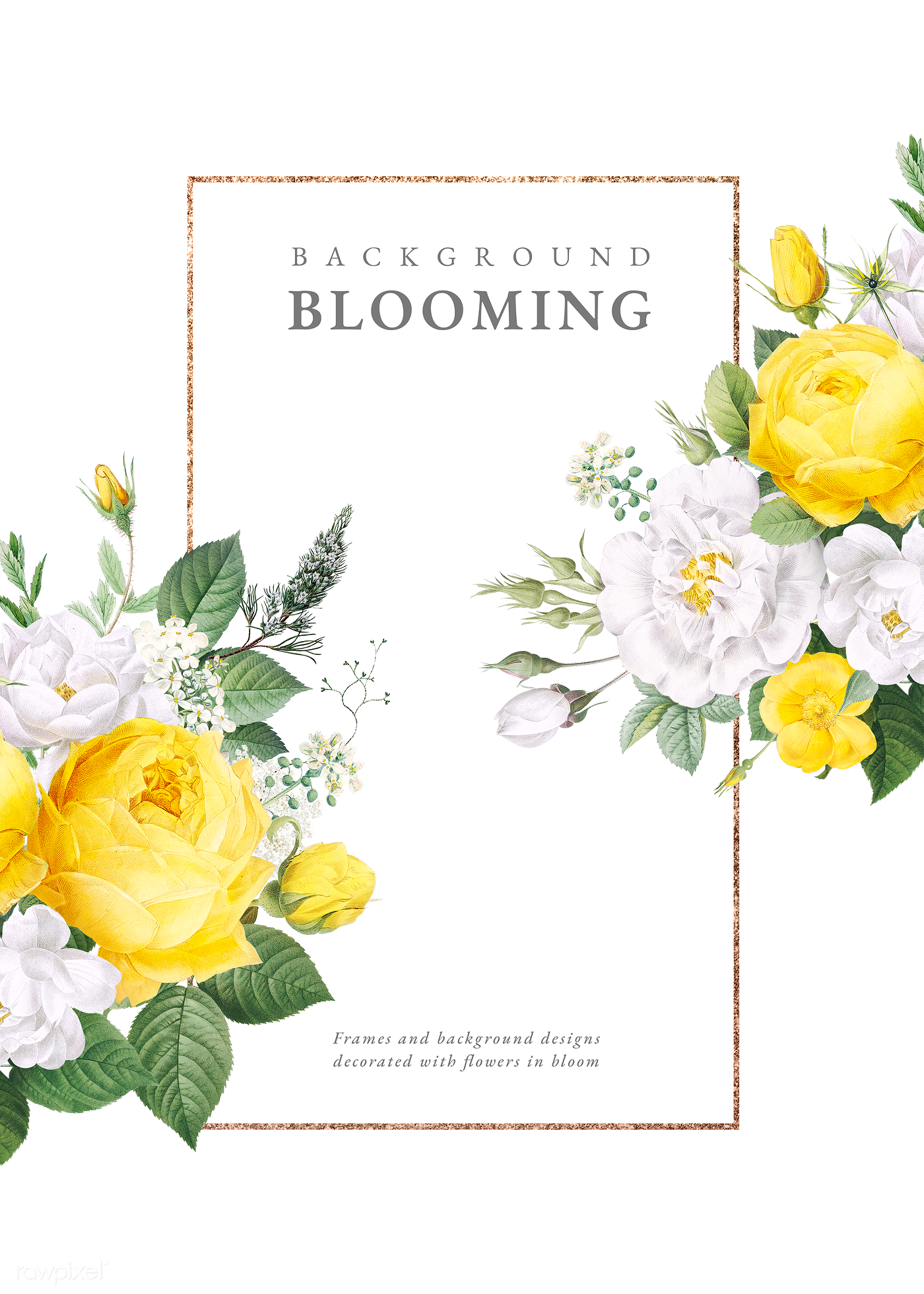 Download Premium Png Of Floral Wedding Invitation Mockup Transparent Png