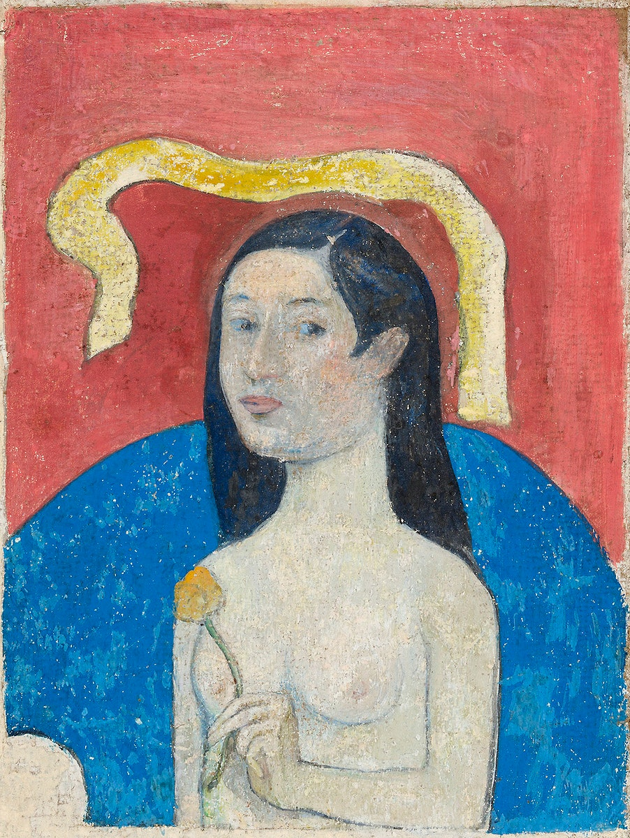 Portrait of the Artist's Mother (Eve) (ca. 1889–1890) by Paul Gauguin. Original from The Art Institute of…