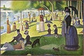 """A Sunday on La Grande Jatte (1884) by <a href=""""https://www.rawpixel.com/search/Georges%20Seurat?sort=curated&amp;type=all&amp;page=1"""">Georges Seurat</a>. Original from The Art Institute of Chicago. Digitally enhanced by rawpixel."""