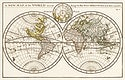 A new map of the world according to the new observations (1732) by Herman Moll. Original from The Beinecke Rare Book & Manuscript Library. Digitally enhanced by rawpixel.