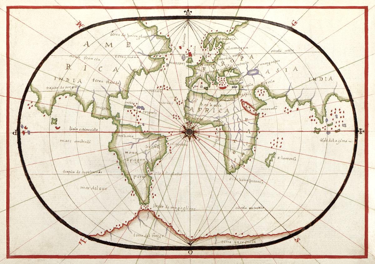 Portolan Atlas Of The Mediterranean Sea Western Europe And The Northwest Coast Of Africa Picryl Public Domain Image