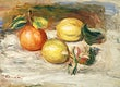 """Lemons and Orange (Citrons et orange) (1913) by <a href=""""https://www.rawpixel.com/search/Pierre-Auguste%20Renoir?sort=curated&amp;page=1"""">Pierre-Auguste Renoir</a>. Original from Barnes Foundation. Digitally enhanced by rawpixel."""