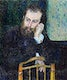 """Alfred Sisley (1876) by <a href=""""https://www.rawpixel.com/search/Pierre-Auguste%20Renoir?sort=curated&amp;page=1"""">Pierre-Auguste Renoir</a>. Original from The Art Institute of Chicago. Digitally enhanced by rawpixel."""