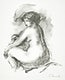 """&Eacute;tude de Femme nue, assise (1904) by <a href=""""https://www.rawpixel.com/search/Pierre-Auguste%20Renoir?sort=curated&amp;page=1"""">Pierre-Auguste Renoir</a>. Original from The Los Angeles County Museum of Art. Digitally enhanced by rawpixel."""