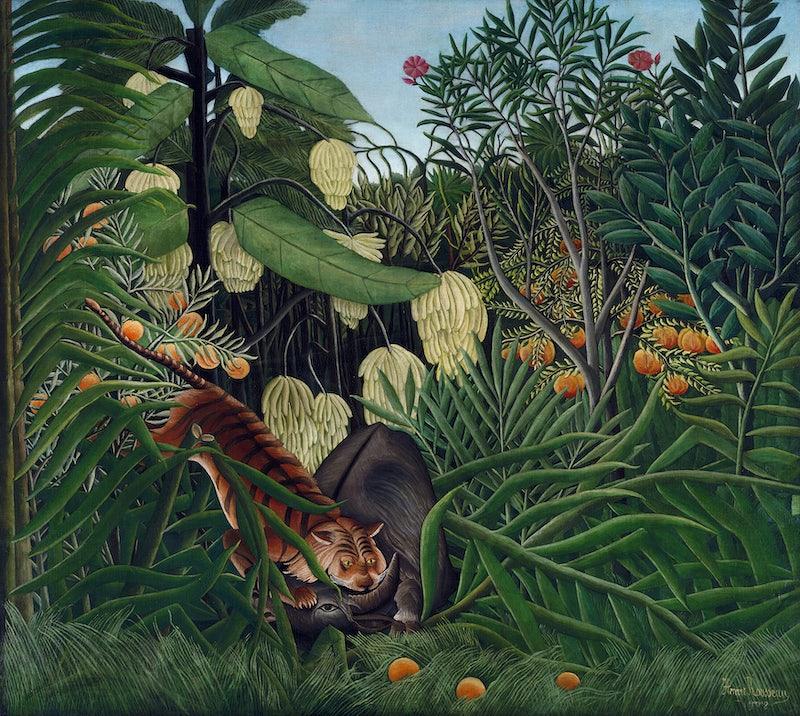 Henri Rousseau Original Public Domain Paintings | rawpixel